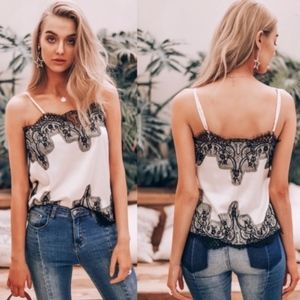 Bellanblue Tops - IT'S ALL ABOUT THE LACE Tank Top
